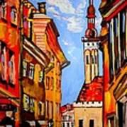Old Tallinn Poster