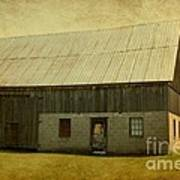 Old Textured Barn Poster