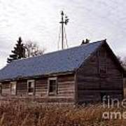 Old Time Barn From Days Gone By Poster