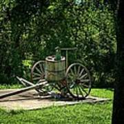 Old Time Pump Wagon Poster