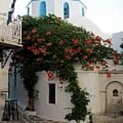 Old Town Church Paros Poster