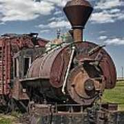 Old Vintage 1880's Railroad Train No.0394 Poster