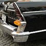 Old Volga Car Poster