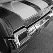 Olds Cs In Black And White Poster