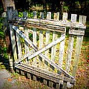 Ole Garden Gate I Poster