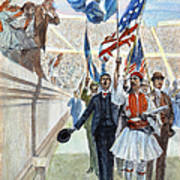 Olympic Games, 1896 Poster