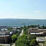 On The Top Of Cornell Poster