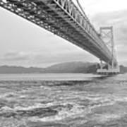 Onaruto Bridge Poster by Miguel Castaneda