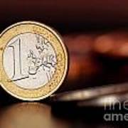 One Euro Coin Poster