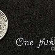 One Thin Dime Poster