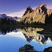 Opabin Lakes In Yoho National Park Poster