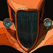 Orange Jalopy Poster