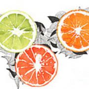 Orange Poster by Viki Vehnovsky