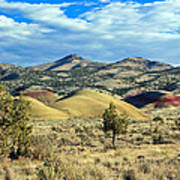 Oregons Painted Hills Poster