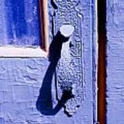 Ornate Door Handle Poster