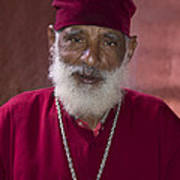 Orthodox Priest Of Addis Ababa Poster