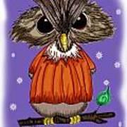 Oscar Owl Poster