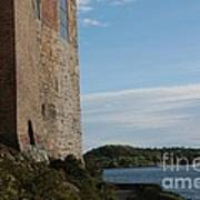 Oslo Castle And Harbor Poster