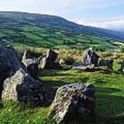 Ossians Grave, Co Antrim, Ireland Stone Poster