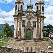 Ouro Preto Church Poster
