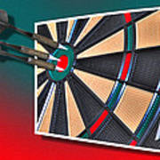 Out Of Bounds Bullseye Poster
