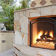 Outdoor Patio Living Space Residential Poster