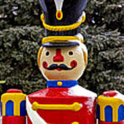 Outdoor Toy Soldier Poster