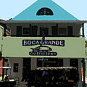 Outfitters Boca Grande Style Poster