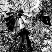 Overgrown Windpump Poster