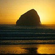 Pacific City Sunset Poster