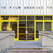 Pacific Film Archive Theater . Uc Berkeley . 7d10200 Poster