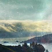 Pacific Ocean Fog Bank  Poster