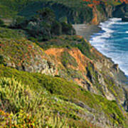 Pacific Shoreline Vii Poster