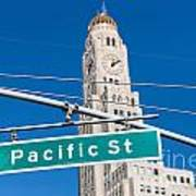 Pacific Street I Poster