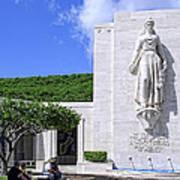 Pacific Theater War Memorial - Honolulu Poster