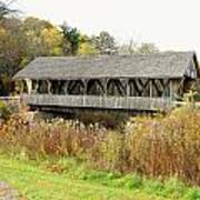 Packard Hill Covered Bridge Poster