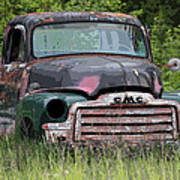 Painted Gmc Truck Poster