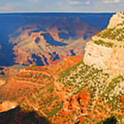 Painted Grand Canyon Before Sunset Poster
