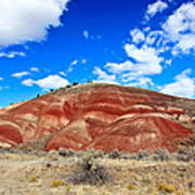 Painted Hills In Eastern Oregon Poster