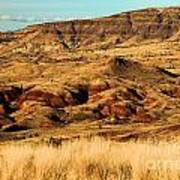 Painted Hills In Sheep Rock Poster