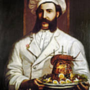 Palace Hotel Chef Poster