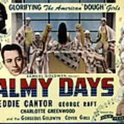 Palmy Days, Eddie Cantor, Charlotte Poster by Everett