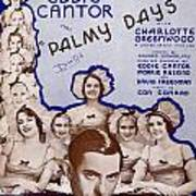 Palmy Days Poster