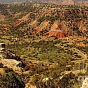 Palo Duro Canyon Texas Poster