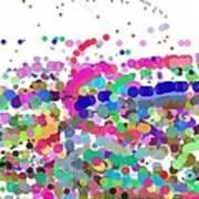 Pandemonium Of Colours Poster