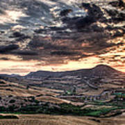 Panoramic Sunset Poster