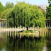 Parc Monceau Paris Poster