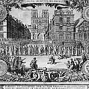 Paris: Catholic Procession Poster
