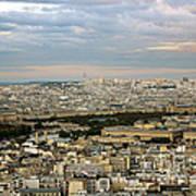 Paris City View Poster
