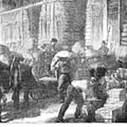 Paris: Les Halles, 1870 Poster